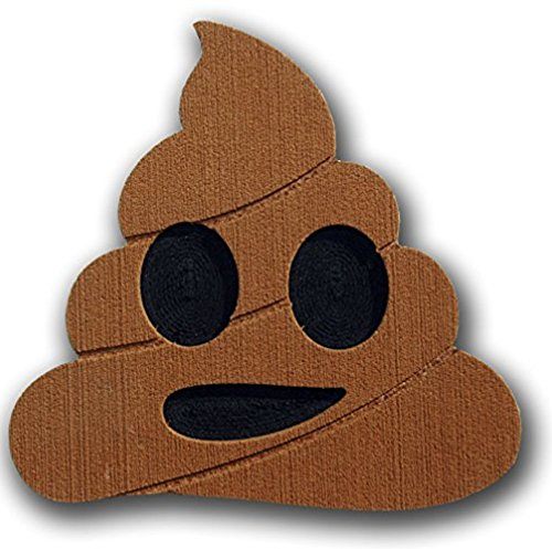 Snowboard Stomp Pad: Poop - Add Traction to your off foot with this Ultra Lightweight, Super Grip, Durable, Anti-Slip Pad! …