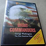 History Channel Great Commanders George Washington, the First American Hero Dvd!