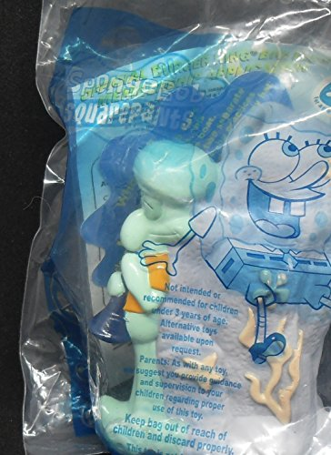 Burger King Spongebob Square Pants Themed Figure - Squidward - 2002 Kids Meal Toy ()