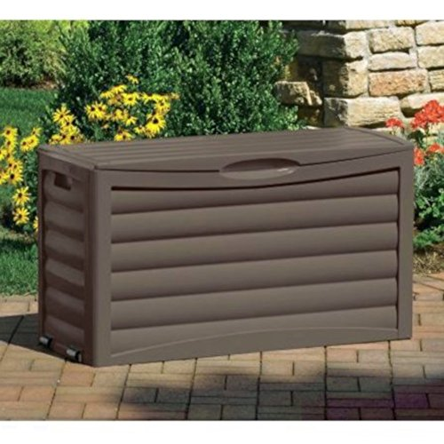 Porch Storage Container Weatherproof Cabinet Organizer Outdoor Wicker Deck Box Bench Deck Contemporary Pool Equipment Patio Pillows Backyard Toy Storage Garden Tools & e-book by Amglobalsupplies. by AMGS