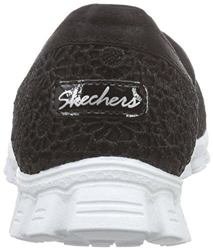 Para Negro Zapatillas Skechers nbsp;make Flex Ez Mujer bkw 2 Believe fq87RYw