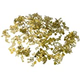Just Married Heart shape Confetti for Wedding Party Decoration Scatter Sprinkles Gold