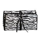 Two Lumps of Sugar Zebra Hanging Travel Kit