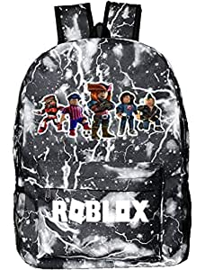 Roblox designer classic cool School Bookbag backpack Travel Rucksack Fits up to 15.6 inch Laptop Bag for men,women girls and boys