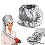 Berucci Portable Hair Drying Styling Soft Cap Bonnet Hood Hat...
