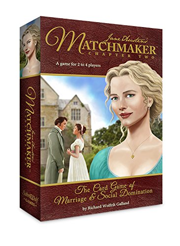 Sabrewolf Games Jane Austen's Matchmaker Chapter Two Board Game by Sabrewolf Games