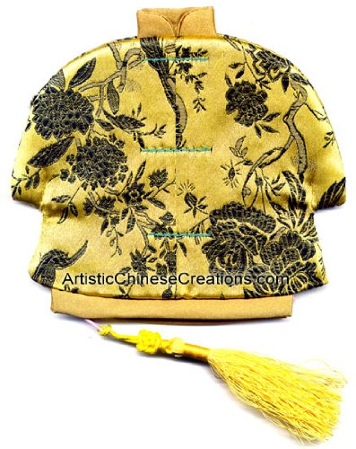 Chinese Apparel / Chinese Clothing & Accessories: Chinese Jacket Silk Purse - Birds & Flowers