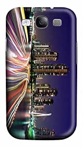 free cover city lights tokyo PC case/cover for Samsung Galaxy S3 I9300