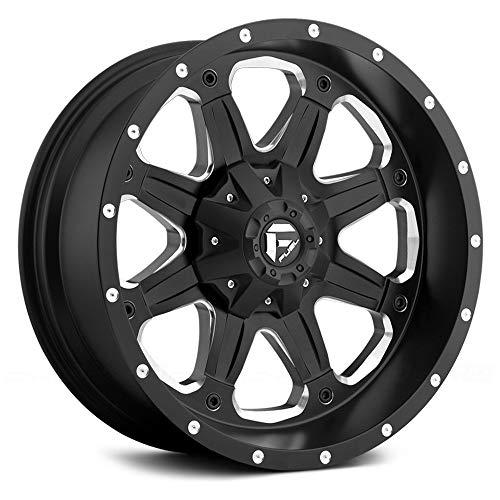 (Fuel Offroad Wheels D534 16x8 Boost 6x5.5 NB5.25 20 108 Black Milled )