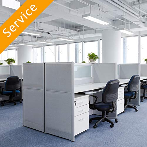 Office Partition Assembly
