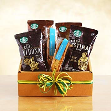Amazon Starbucks Sampler Coffee Gift Box Valentines Idea