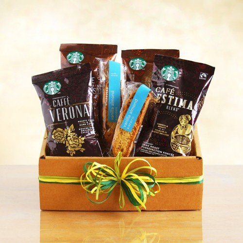 Starbucks Sampler Coffee Gift Box Valentines Gift Idea for Him Birthday Gift Idea