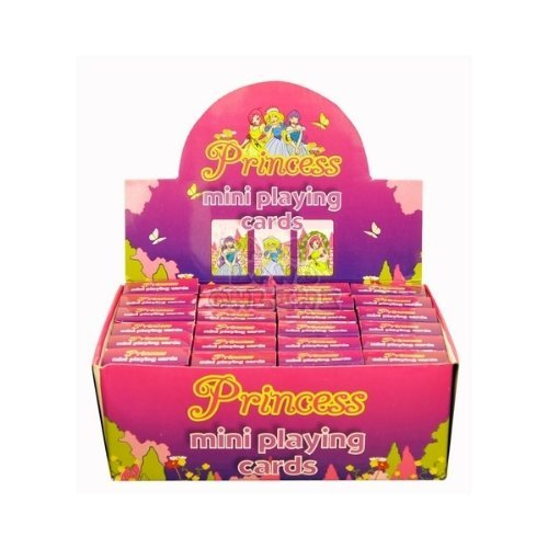 10 Packs of Princess Playing Cards (mini) perfect party bag fillers by Party Loot Bag Toys