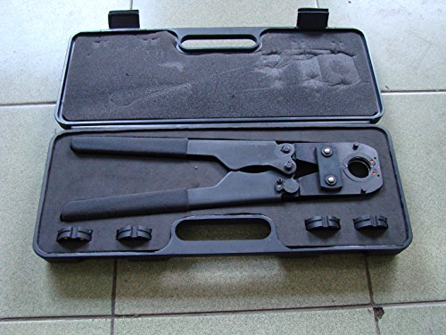 Pex Press All Tool Kit for SS Sleeves with Jaw Sets 3/8
