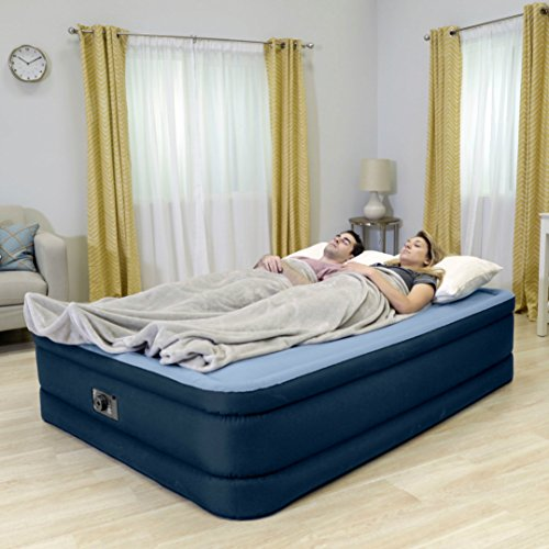 Intex Premaire Series Robust Comfort Airbed with Built-In Electric Pump, Bed Height 20'', Queen - Amazon Exclusive by Intex (Image #3)