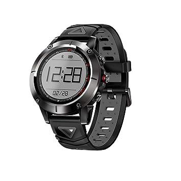 XuBa Smart Reloj Deportivo multifunción Integrado GPS Fitness Tracker IP68 Resistente al Agua Ritmo cardíaco Monitor