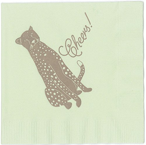 Cheetah Jungle Safari Party Napkins made in America by REVEL & Co by REVEL & Co