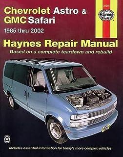 General motors astro/safari 1985-2005 repair manual (chilton's.