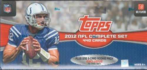 2012 Topps Football Factory Sealed Retail Version Set wit...