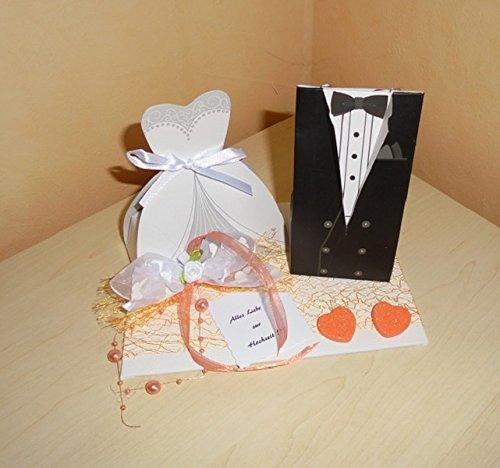 Geldgeschenk Hochzeit Brautpaar Verpackung Dekoration Amazonde
