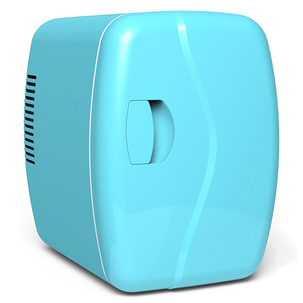 LIQICAI 5L Tragbar Elektrische Kühlbox Heizung Kühlung Auto Zuhause, Die Kühltemperatur Kann Auf -5 ° C Gesenkt Werden, 265 x 280 x 197 mm (Farbe : Blau, größe : A)