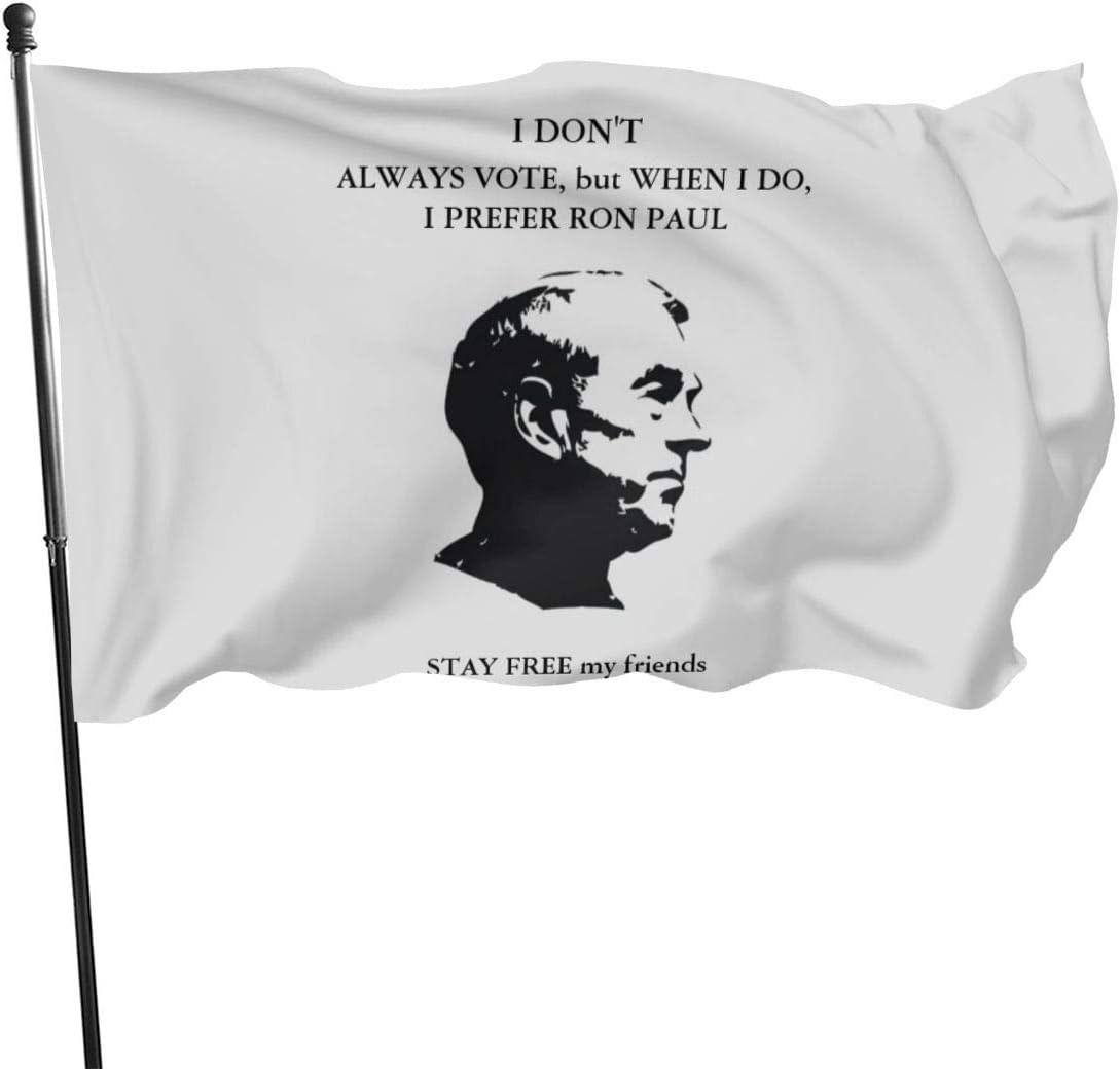 Pancarta de bandera de Ron Paul, 3 x 5: Amazon.es: Jardín