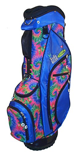 Birdie Babe Womens Hybrid Golf Bag Kool Karma Blue Tie Dye Ladies Golf Bag