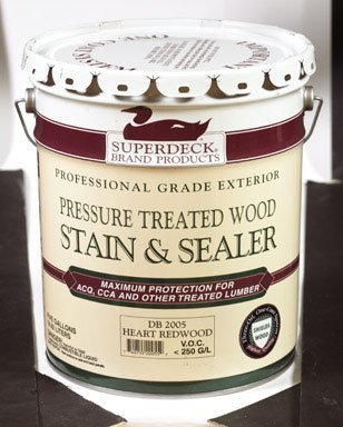 Duckback Products DP-2005-5 5-Gallon Red Wood Press Stain,620 fl oz (Redwd Stain)