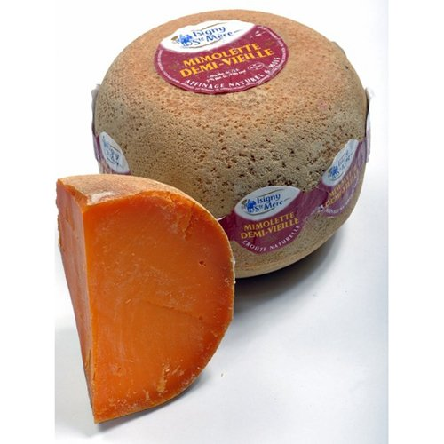 Aged Mimolette Cheese (8oz or 1lb)