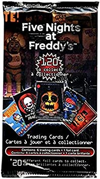 FIVE NIGHTS AT FREDDYS Trading Card Pack: Amazon.es: Juguetes y juegos