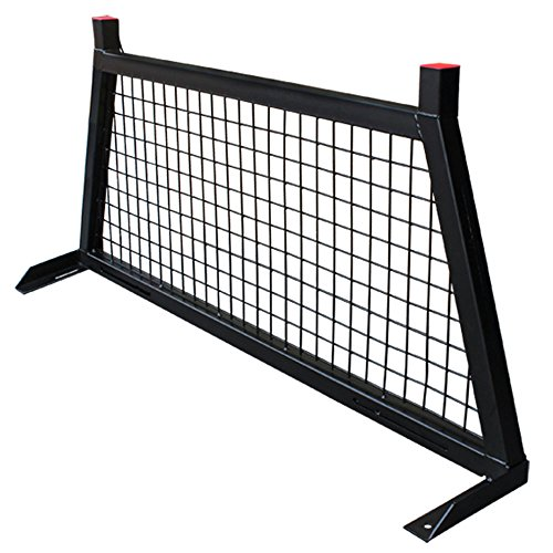 Universal Pickup Truck Rear Window Protector Cage Headache Rack Cab Guard ()