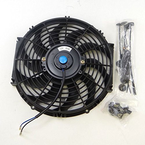 4 Inch 12 Volt Fan : Universal inch volt slim fan push pull electric
