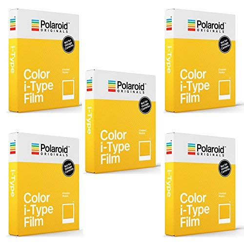 Polaroid Originals Standard Color Film for i-Type Cameras (5 Pack)