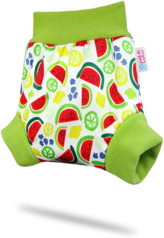 13kg + Petit Lulu /Überhose f/ür H/öschenwindeln und Nachtwindeln Schlupf/überhose Wassermelonen Gr/ö/ße XL