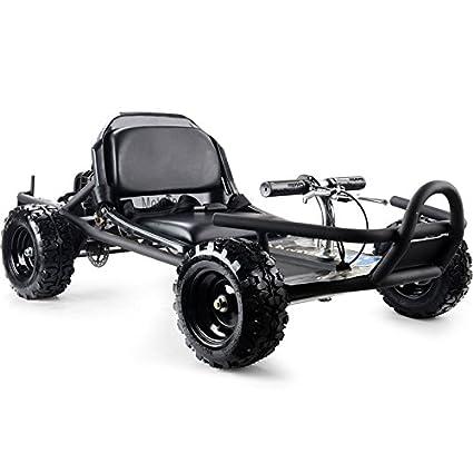 Amazon.com: MotoTec MT-GK-10_Black Sandman 49cc Go Kart Black ...