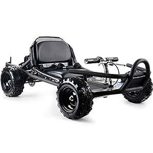 MotoTec MT-GK-10_Black SandMan 49cc Go Kart Black