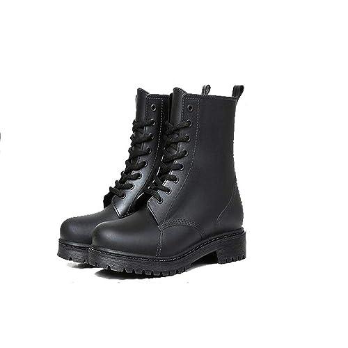 feabaa861e0a8 Amazon.com | Gusha Fashion Short rain Boots Women's Short Boots ...