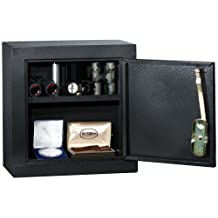 HOMAK HS10103025 Upper Add On Security Cabinet, Gloss Black