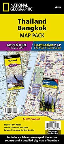 Thailand, Bangkok [Map Pack Bundle] (National Geographic Adventure Map) (Bangkok Map)