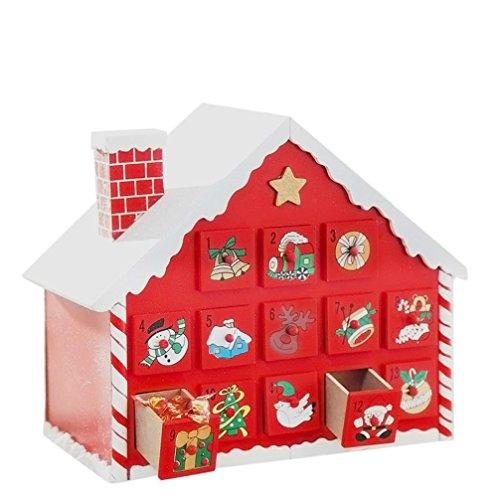 Coerni Handmade Christmas Gift Decorative Wooden Candy House by Coerni