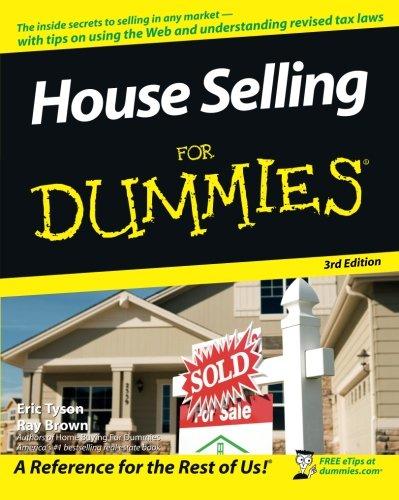 House Selling Dummies Eric Tyson product image