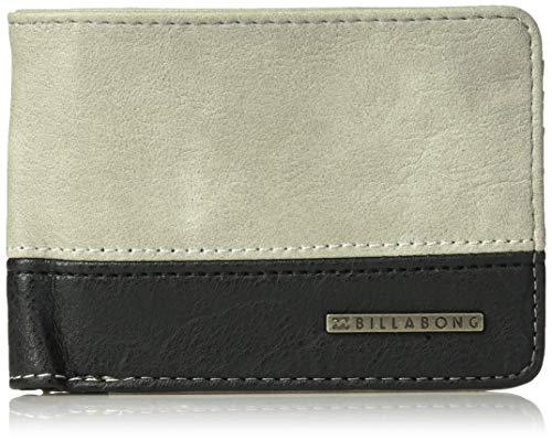 Billabong Men's Dimension Wallet Grey One Size (Billabong Card Wallet)