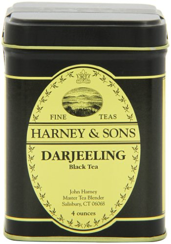 Harney & Sons Loose Leaf Black Tea, Darjeeling, 4 Ounce -