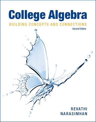 Read Online College Algebra : Building Concepts and Connections with Access Code ebook