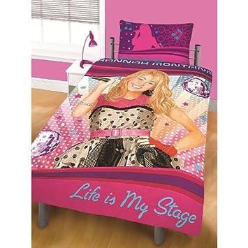 Hannah Montana Bettwäsche Für Doppelbett Kissen Und Deckenbezug