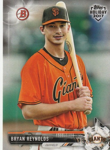 - 2017 Bowman Topps Holiday #THBR Bryan Reynolds Baseball Card