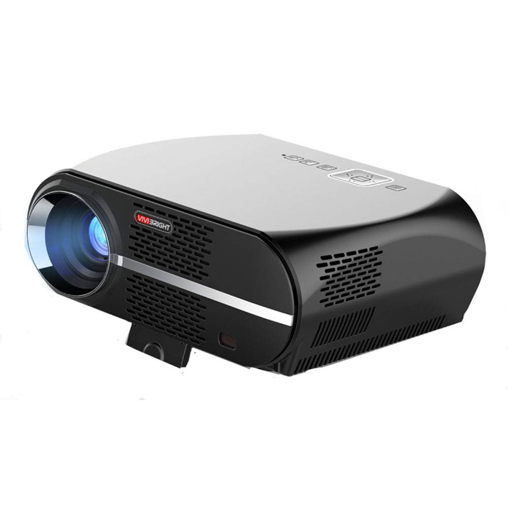 HDの携帯用プロジェクターホームシアタープロジェクター、賭博ビジネスおよび教育のためのサポート1080P Max300 DLP 3Dのビデオプロジェクターアンドロイドシステム B07RQYC6KZ