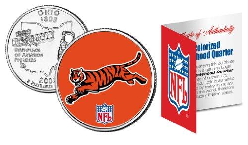 (CINCINNATI BENGALS NFL Ohio U.S. Statehood Quarter U.S. Coin *Licensed*)