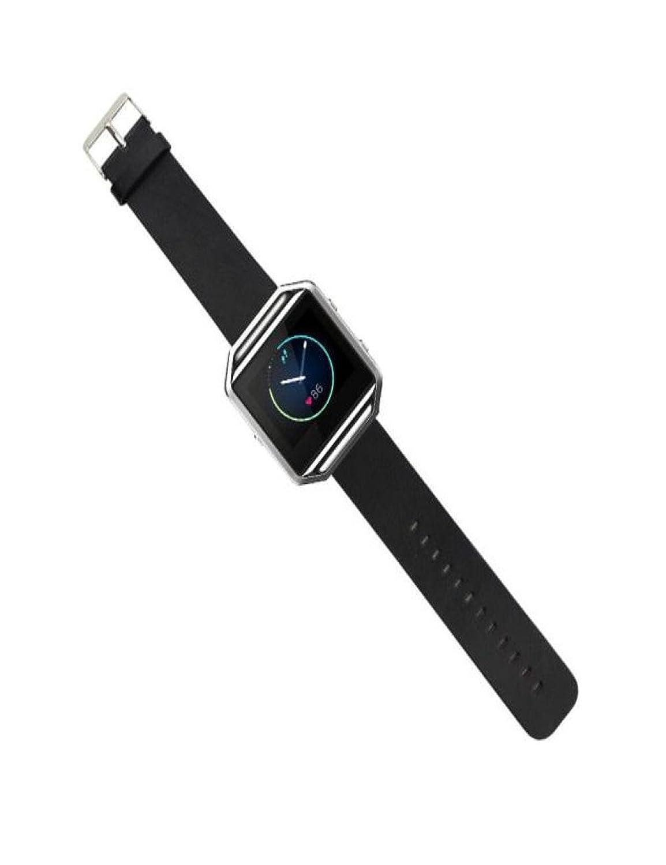 Dreaman高級本革時計バンド手首ストラップfor Fitbit Blazeスマート時計 ブラウン B074SDWVL2