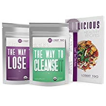 DOCTOR FORMULATED Weight Loss Tea (14 day) – Premium Detox & Cleanse Kit with 100% Herbal Ingredients to Help Lose Weight! Free Healthy Diet Book by LoseIT Tea.